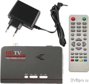 HDTV 1080P VGA+HDMI+AV OUT DVB-T2 RECEIVER