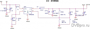 power DC/DC IO POWER 3.3V BBK SMP131HDT2