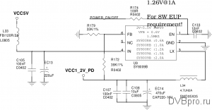 power DC/DC VCC 1.2V core cpu