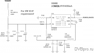 power DC/DC VCC1.8V DRAM