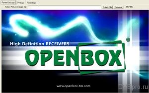 EZ-Manage Tool Power On Logo Openbox T2-02 HD Mini