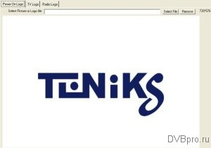 EZ-Manage Tool Power On Logo Teniks DTR-122